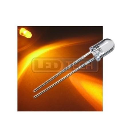 cdfc7ec1b LED dióda 5mm žltá round 30° - LEDtech.sk