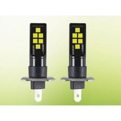 LED žárovka H1 12x 3030 LED 6W bílá