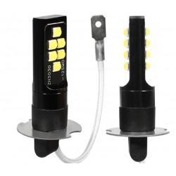LED žiarovka canbus T10 W5W 15x SMD biela