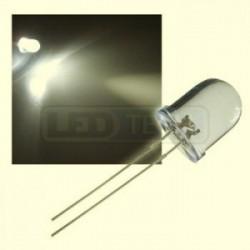 LED dióda 10mm teplá biela round 30°