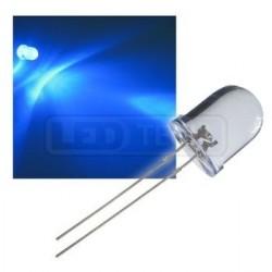 LED dióda 10mm modrá round 30°