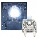 LED dióda Flux Piranha studená biela 120°