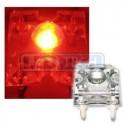 LED dióda Flux Piranha červená 120°