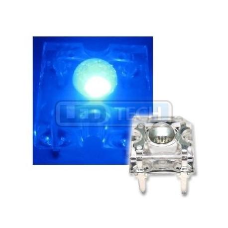 LED dióda Flux Piranha modrá 120°