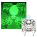 LED dióda Flux Piranha zelená 120°