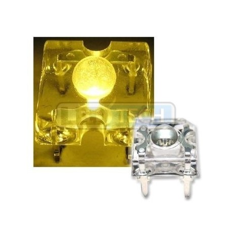 LED dióda Flux Piranha žltá 120°