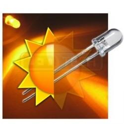 LED dióda 5mm žltá samoblikajúca 30°