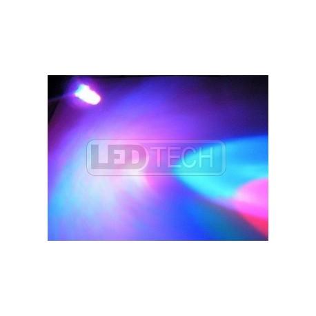 LED dióda multicolor 5mm - 6 farieb - 2pin - rýchla