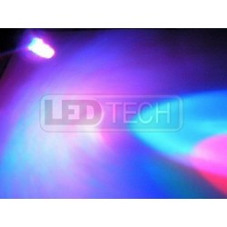 LED dióda multicolor 5mm - 6 farieb - 2pin - pomalá