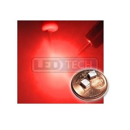 LED smd dióda 3528 PLCC-2 červená - 150mcd / 120°
