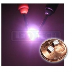 LED smd dióda 3528 PLCC-2 ružová - 200mcd / 120°