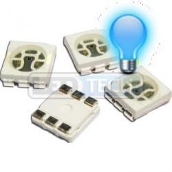 LED smd dióda 5050 modrá 700mcd 120°