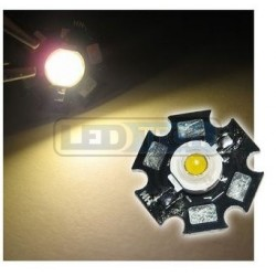 LED dióda 1W výkonová teplá biela 3000-3500K