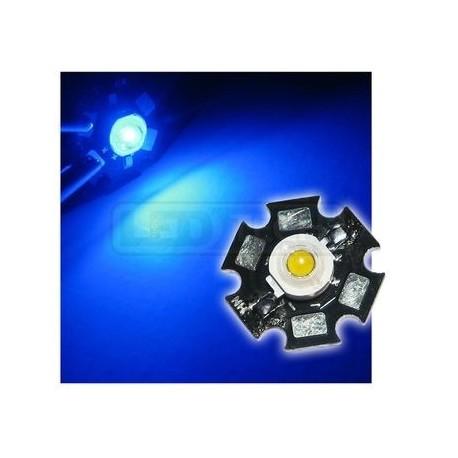 LED dióda 3W výkonová modrá 465nm
