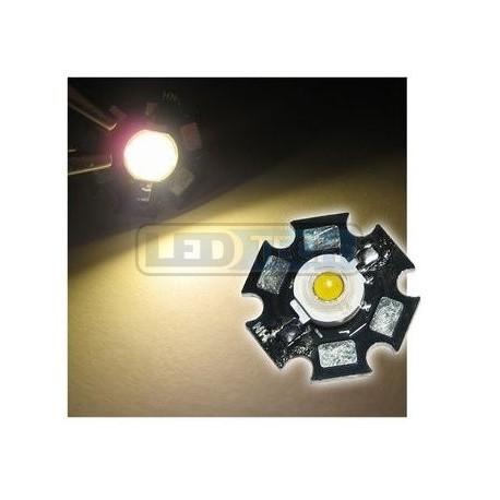 LED dióda 3W výkonová teplá biela 3000-3200K